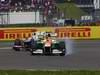 GP GRAN BRETAGNA, 08.07.2012- Gara, Kamui Kobayashi (JAP) Sauber F1 Team C31 e Nico Hulkenberg (GER) Sahara Force India F1 Team VJM05