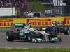 GP GRAN BRETAGNA, 08.07.2012- Gara, Nico Rosberg (GER) Mercedes AMG F1 W03