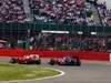 GP GRAN BRETAGNA, 08.07.2012- Gara, Fernando Alonso (ESP) Ferrari F2012 e Lewis Hamilton (GBR) McLaren Mercedes MP4-27