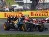 GP GRAN BRETAGNA, 08.07.2012- Gara, Heikki Kovalainen (FIN) Caterham F1 Team CT01