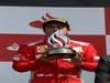 GP GRAN BRETAGNA, 08.07.2012- Gara, secondo Fernando Alonso (ESP) Ferrari F2012