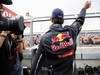 GP GRAN BRETAGNA, 08.07.2012- Festeggiamenti, Mark Webber (AUS) Red Bull Racing RB8 vincitore