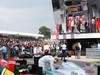 GP GRAN BRETAGNA, 08.07.2012- Gara, Mark Webber (AUS) Red Bull Racing RB8 vincitore, secondo Fernando Alonso (ESP) Ferrari F2012 e terzo Sebastian Vettel (GER) Red Bull Racing RB8