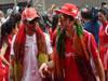 GP INDIA, 28.10.2012- Lewis Hamilton (GBR) McLaren Mercedes MP4-27 e Fernando Alonso (ESP) Ferrari F2012 at drivers parade