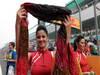GP INDIA, 28.10.2012- griglia Ragazzas