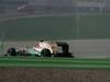 GP INDIA, 28.10.2012- Gara, Michael Schumacher (GER) Mercedes AMG F1 W03 punshed
