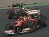 GP INDIA, 28.10.2012- Gara, Felipe Massa (BRA) Ferrari F2012 davanti a Kimi Raikkonen (FIN) Lotus F1 Team E20