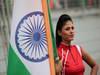 GP INDIA, 28.10.2012- Gara, griglia Ragazza