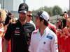 GP ITALIA, 09.09.2012- Mark Webber (AUS) Red Bull Racing RB8 e Sergio P�rez (MEX) Sauber F1 Team C31