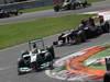 GP ITALIA, 09.09.2012- Gara,  Nico Rosberg (GER) Mercedes AMG F1 W03 davanti a Daniel Ricciardo (AUS) Scuderia Toro Rosso STR7