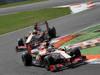 GP ITALIA, 09.09.2012- Gara,  Narain Karthikeyan (IND) HRT Formula 1 Team F112 davanti a Pedro de la Rosa (ESP) HRT Formula 1 Team F112