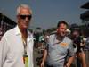 GP ITALIA, 09.09.2012- Gara,  Marco Tronchetti Provera (ITA), Pirelli's President e Paul Hembery, Pirelli Motorspor Director