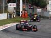 GP ITALIA, 09.09.2012- Gara, Jenson Button (GBR) McLaren Mercedes MP4-27 davanti a Sebastian Vettel (GER) Red Bull Racing RB8