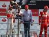 GP ITALIA, 09.09.2012- Gara, Lewis Hamilton (GBR) McLaren Mercedes MP4-27 pole position, secondo Sergio P�rez (MEX) Sauber F1 Team C31, Nikki Lauda (AU) e terzo Fernando Alonso (ESP) Ferrari F2012