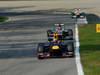 GP ITALIA, 09.09.2012- Gara, Mark Webber (AUS) Red Bull Racing RB8 davanti a Michael Schumacher (GER) Mercedes AMG F1 W03