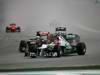 GP MALESIA, 25.03.2012- Gara, Daniel Ricciardo (AUS) Scuderia Toro Rosso STR7 e Michael Schumacher (GER) Mercedes AMG F1 W03
