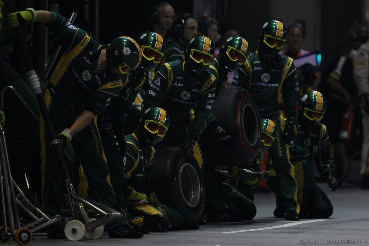 GP SINGAPORE, 23.09.2012 - Gara, meccanici