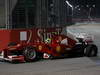 GP SINGAPORE, 23.09.2012 - Gara, Felipe Massa (BRA) Ferrari F2012 with tyre off