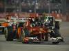 GP SINGAPORE, 23.09.2012 - Gara, Fernando Alonso (ESP) Ferrari F2012