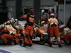 GP SINGAPORE, 23.09.2012 - Gara, Nico Hulkenberg (GER) Sahara Force India F1 Team VJM05 pit-stop