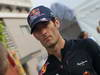 GP SINGAPORE, 20.09.2012 - Mark Webber (AUS) Red Bull Racing RB8