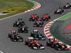 GP SPAGNA, 13.05.2012- Gara, Felipe Massa (BRA) Ferrari F2012 e Mark Webber (AUS) Red Bull Racing RB8