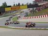 GP SPAGNA, 13.05.2012- Gara,Sebastian Vettel (GER) Red Bull Racing RB8 e Jenson Button (GBR) McLaren Mercedes MP4-27