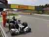 GP SPAGNA, 13.05.2012- Gara, Bruno Senna (BRA) Williams F1 Team FW34 retires from the race