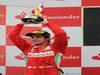 GP SPAGNA, 13.05.2012- Gara, secondo Fernando Alonso (ESP) Ferrari F2012