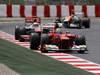 GP SPAGNA, 13.05.2012- Gara, Felipe Massa (BRA) Ferrari F2012 e Lewis Hamilton (GBR) McLaren Mercedes MP4-27