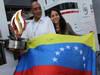 GP SPAGNA, 13.05.2012- Festeggiamenti, The father of Pastor Maldonado (VEN) Williams F1 Team FW34