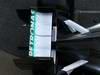 Mercedes F1 W03, 21.02.2012 Barcelona, Spain, Technical detail, rear wing - Mercedes F1 W03 Launch