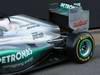 Mercedes F1 W03, 21.02.2012 Barcelona, Spain, Engine cover e rear wing  - Mercedes F1 W03 Launch