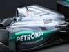 Mercedes F1 W03, 21.02.2012 Barcelona, Spain, Engine cover  - Mercedes F1 W03 Launch