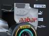 Mercedes F1 W03, 21.02.2012 Barcelona, Spain, Rear wing  - Mercedes F1 W03 Launch