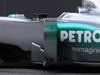 Mercedes F1 W03, 21.02.2012 Barcelona, Spain, Side pod - Mercedes F1 W03 Launch