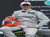 Mercedes F1 W03, 21.02.2012 Barcelona, Spain, Michael Schumacher (GER), Mercedes GP- Mercedes F1 W03 Launch