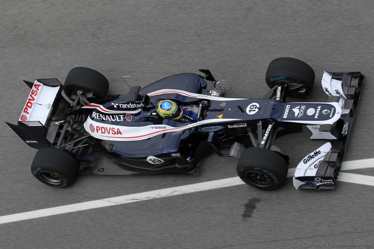 Mugello Test Maggio 2012, Bruno Senna (BRA), Williams F1 Team  02.05.2012. Formula 1 World Championship, Testing, Mugello, Italy