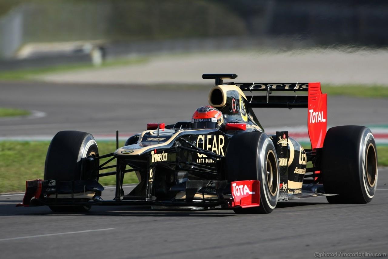 Mugello Test Maggio 2012, Romain Grosjean (FRA), Lotus F1 Team  02.05.2012. Formula 1 World Championship, Testing, Mugello, Italy