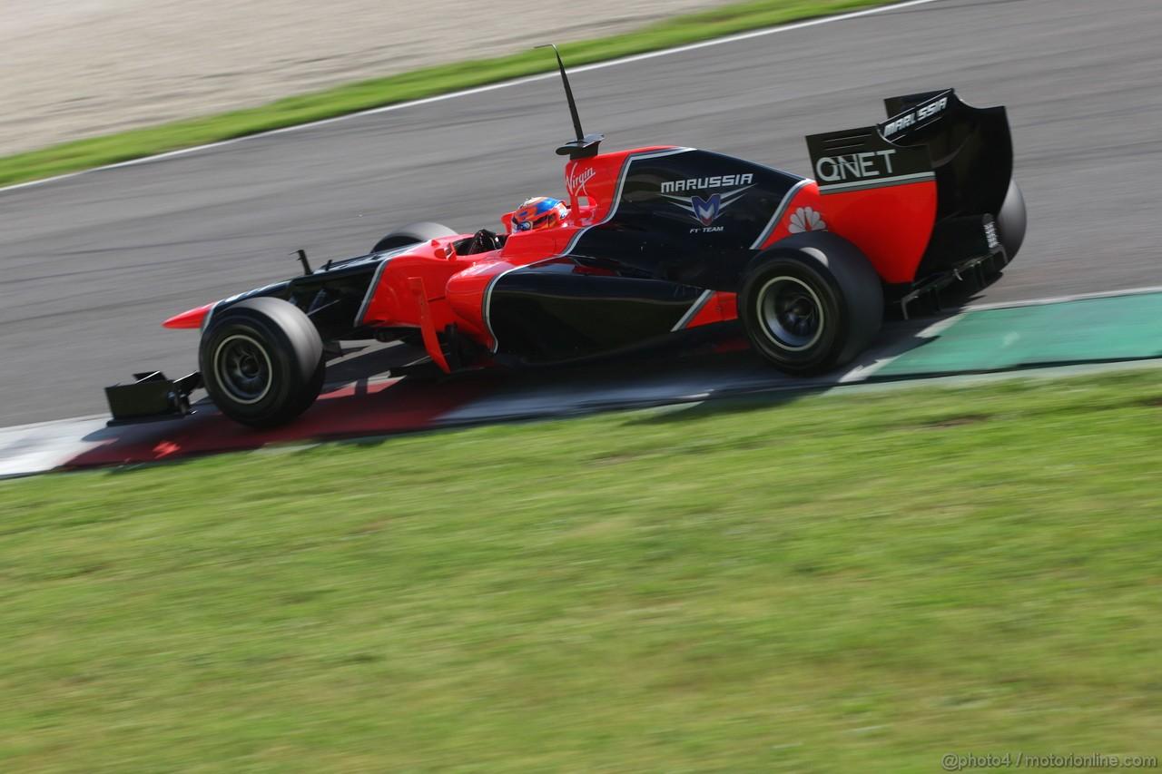 Mugello Test Maggio 2012, Timo Glock (GER), Marussia F1 Team  02.05.2012. Formula 1 World Championship, Testing, Mugello, Italy