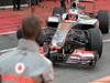 Mugello Test Maggio 2012, Mclaren testing parts on front wing  02.05.2012. Formula 1 World Championship, Testing, Mugello, Italy