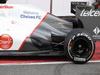Mugello Test Maggio 2012, Kamui Kobayashi (JAP), Sauber F1 Team engine cover e exhaust  02.05.2012. Formula 1 World Championship, Testing, Mugello, Italy