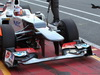 Mugello Test Maggio 2012, New Sauber front wing  02.05.2012. Formula 1 World Championship, Testing, Mugello, Italy
