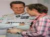 Mugello Test Maggio 2012, Michael Schumacher (GER), Mercedes AMG Petronas with Luca Badoer  02.05.2012. Formula 1 World Championship, Testing, Mugello, Italy