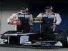 Williams FW34, 07.02.2012 Jerez, Spain,  Pastor Maldonado (VEN), Williams F1 Team e Bruno Senna (VEN), Williams F1 Team  - Williams F1 Team FW34 Launch