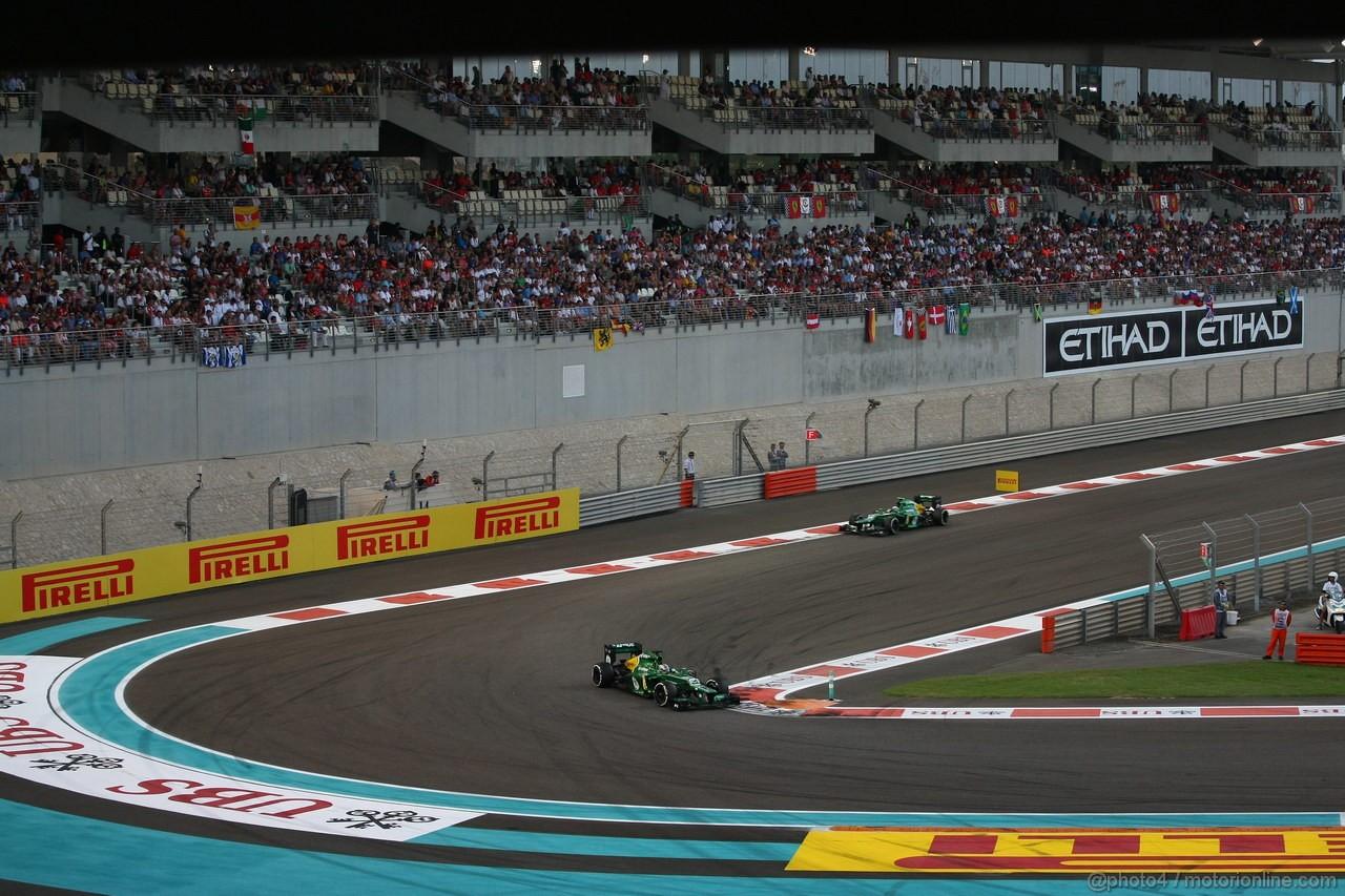 GP ABU DHABI, 03.11.2013- Gara, Charles Pic (FRA) Caterham F1 Team CT03