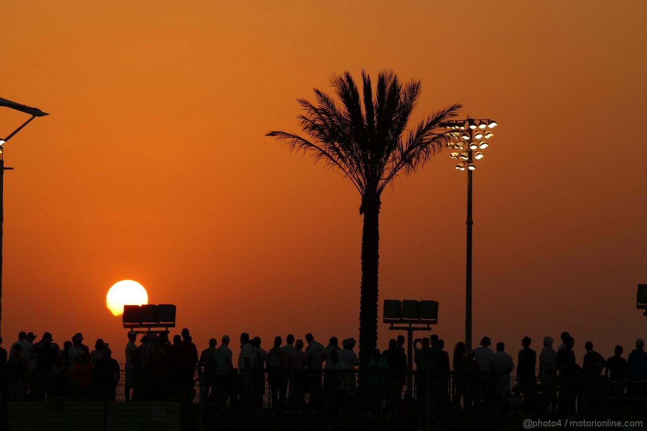 GP ABU DHABI, 03.11.2013- Atmosphere