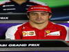GP ABU DHABI, 31.10.2013- Giovedi' Press Conference, Fernando Alonso (ESP) Ferrari F138