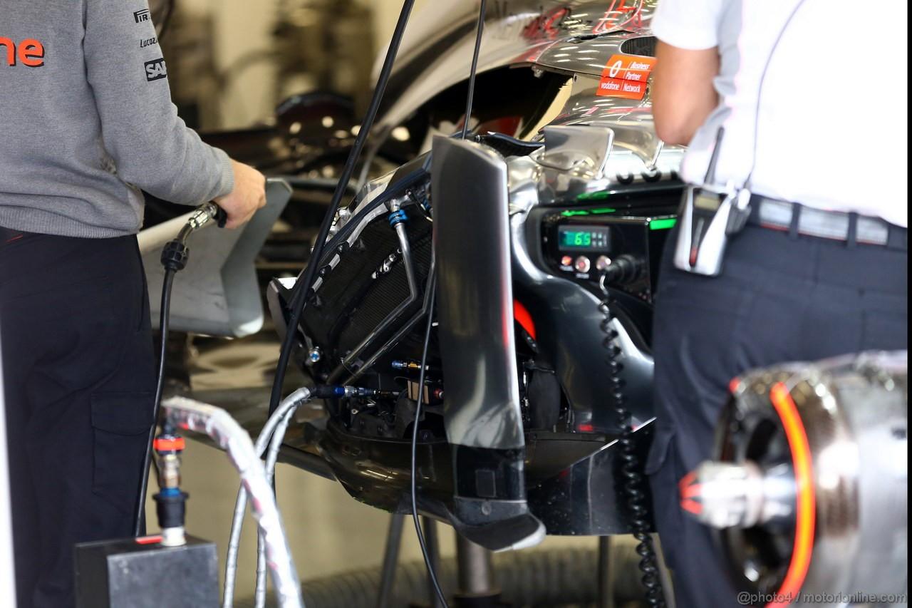 GP BELGIO, 25.08.2013- McLaren Mercedes MP4-28, detail