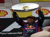 GP BELGIO, 25.08.2013-  Gara, 1st position Sebastian Vettel (GER) Red Bull Racing RB9